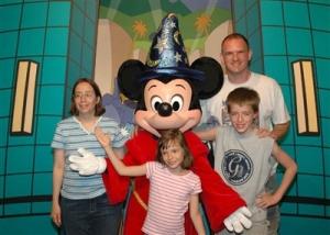 Family and Mickey